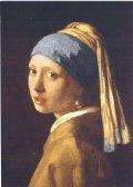 ポストカード フェルメール「真珠の耳飾の少女(青いターバンの少女)」